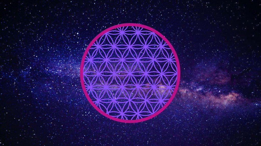 Fleur de vie - géométrie sacrée