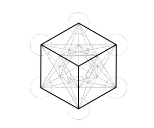 dessiner les cinq solides de Platon